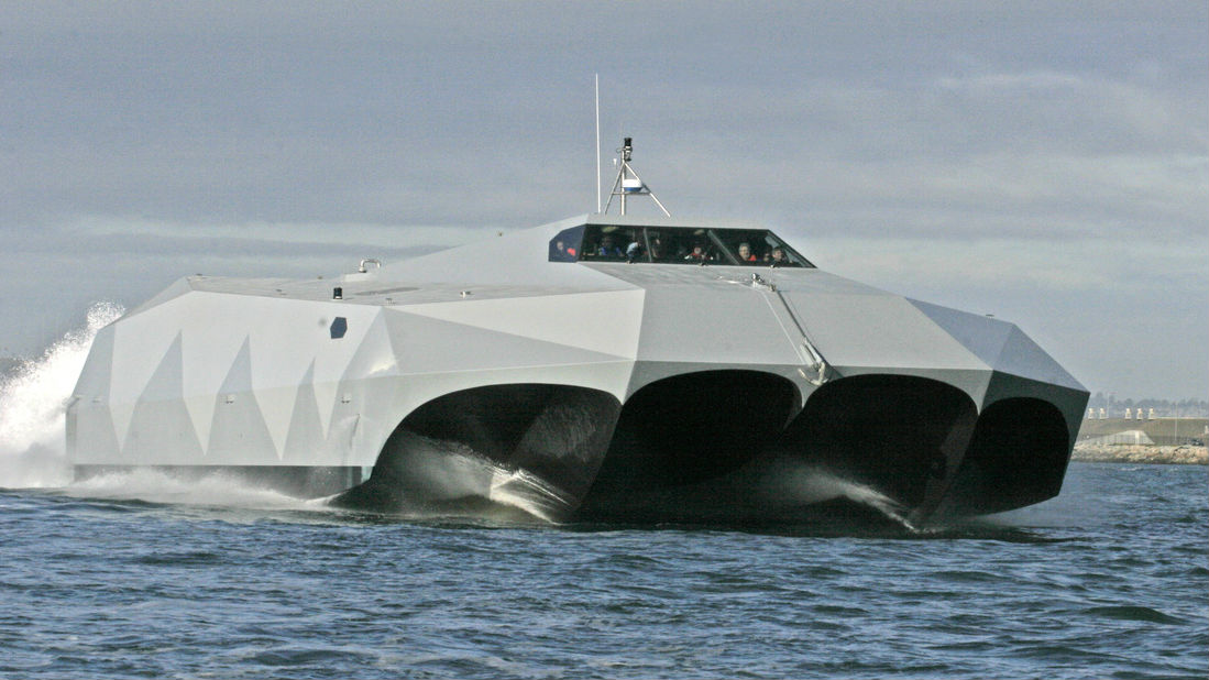 Monster Machines: America's Largest Carbon Fibre Ship Is A Seafaring Speed Demon