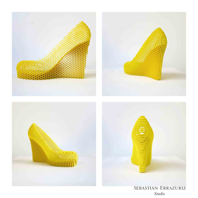 9 Sexy 3D-Printed Heels That Objectify 9 Real Women (NSFW)