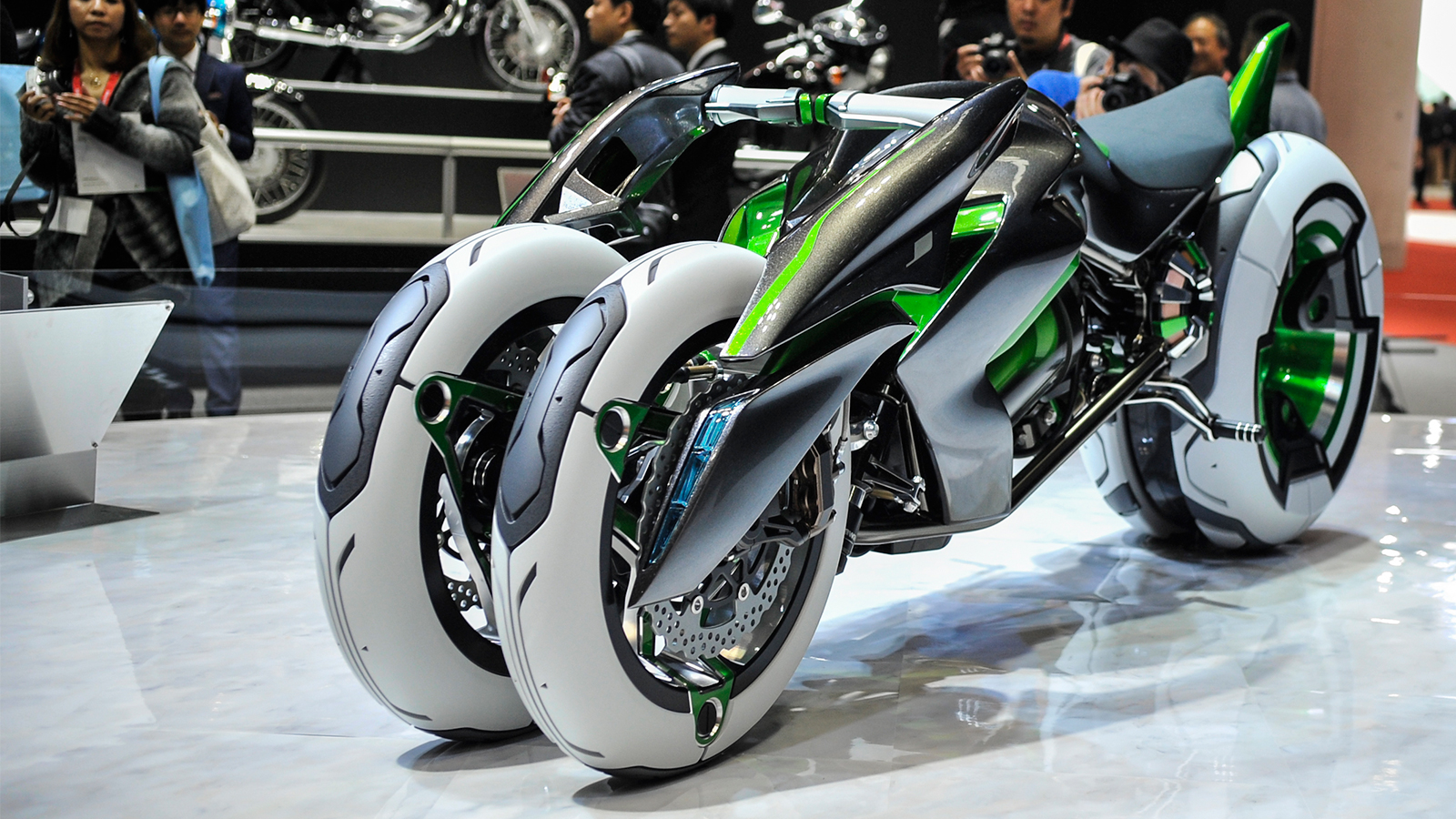 Kawasaki Built A Time Machine And Stole A Bike From The