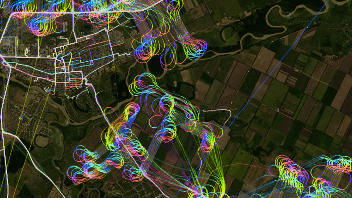 You've Never Seen GPS Data Look This Beautiful