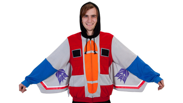 This Starscream Hoodie Will Transform What Your Co-Workers Think of You