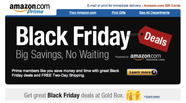 Amazon's Black Friday Starts This Saturday [Update: Sears Too]