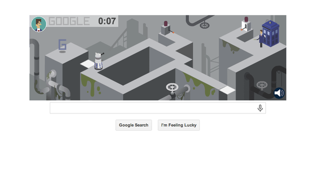 Google's Doctor Who Platform Game Doodle: A Perfect Friday Time Sink