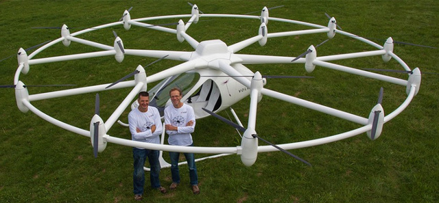 Quadcopters? Please. We've Got Octodecacopters Now.