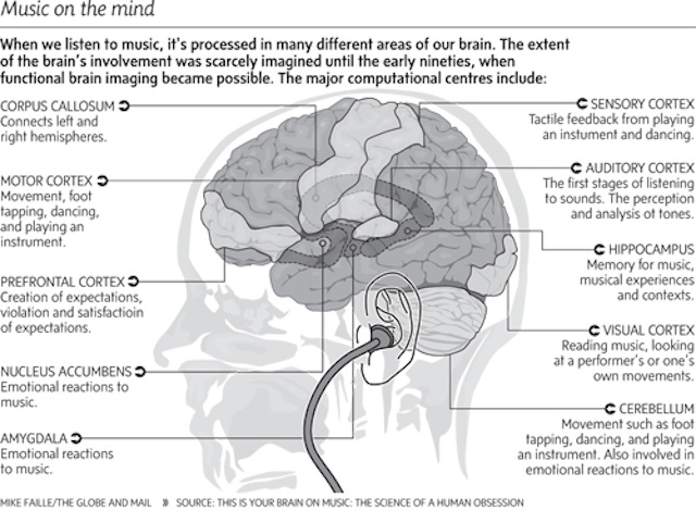 How Music Affects and Benefits Your Brain