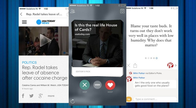 Potluck Delivers Bite-Sized News to Discuss With Friends