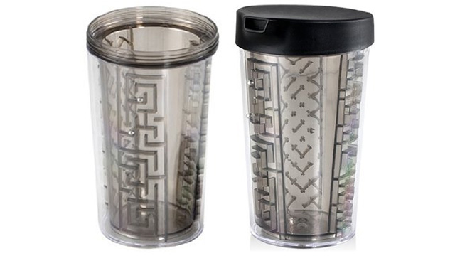 This Maze Mug Seems Like A Great Way To Kill Time/Spill Your Drink