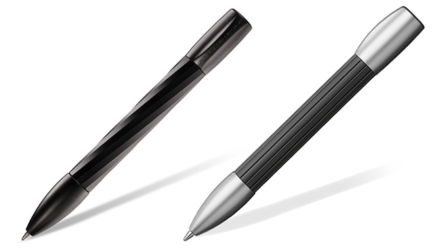Porsche's New Pens Extend and Retract Their Tips With a Simple Shake