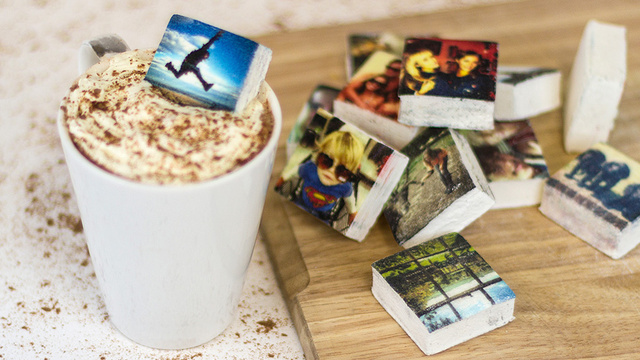 Instagram-Printed Marshmallows: Equal Parts Delicious and Adorable