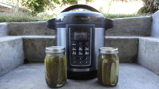 Ball FreshTech Auto Canner Review: Pack a Peck of Perfect Pickles
