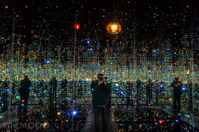 Explore the Extraordinary, Glittering Infinity Rooms of Yayoi Kusama