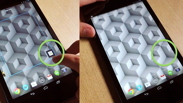 Invisible Lock Screen Widget Locks Your Tablet with a Tap