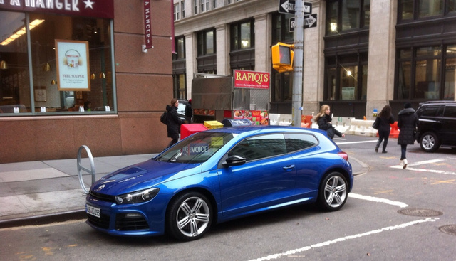 Scirocco R Spotted In NYC; Destined For US Market?
