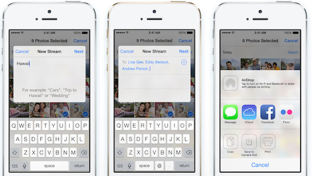 Use Shared Photo Streams to Store a Ton of iPhone Pictures for Free