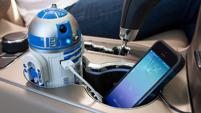 There's No Better Use For Cup Holders Than This R2-D2 USB Charger