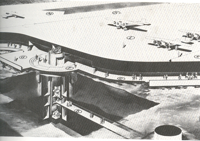 12 Radical, Unbuilt Airports From 100 Years of Air Travel