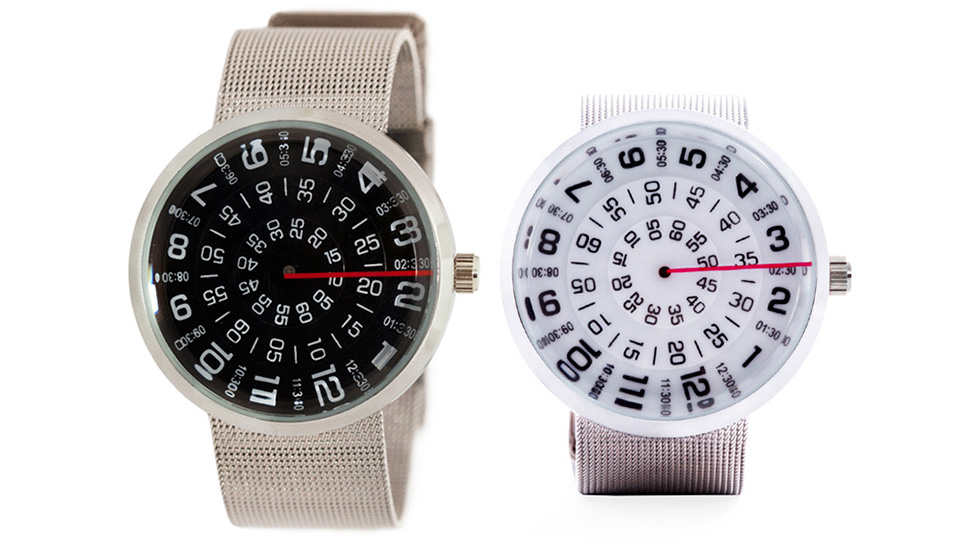 Everything Except The Hands Move On This Dizzying Watch