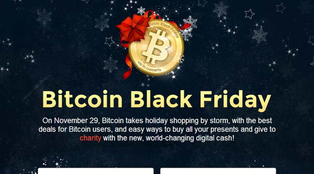 Bitcoin Black Friday Lists Sales and Discounts for Bitcoin Purchases