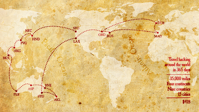 Around the World for $418.00?