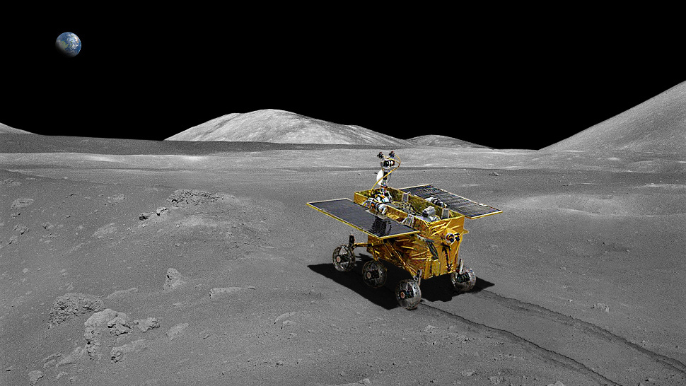 China's 'Jade Rabbit' Rover Heads For The Moon On Sunday