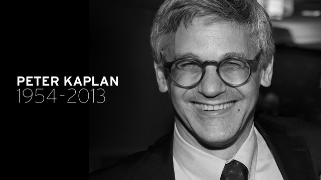Peter Kaplan, Longtime Editor of the New York Observer, Dead at 59