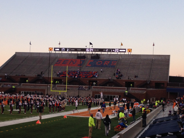 The Illinois Student Section Is The Saddest-Est