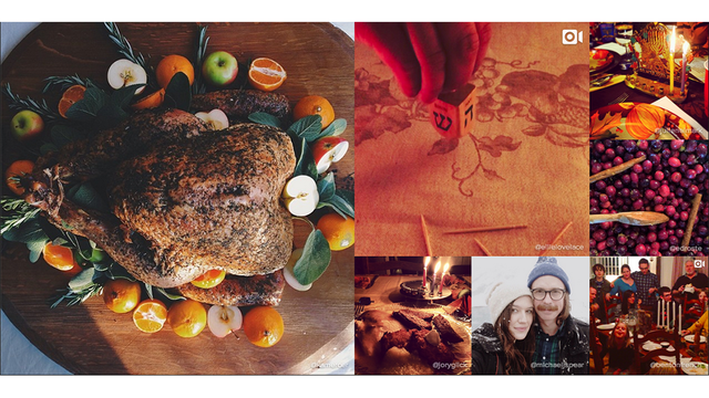 Thanksgivukkah Was A Perfect Instagram Storm