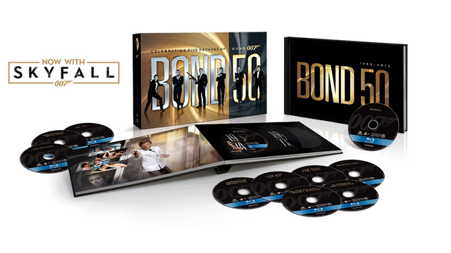 Holy Cow, $200 Off Every Single James Bond Film on Blu-Ray, Today Only