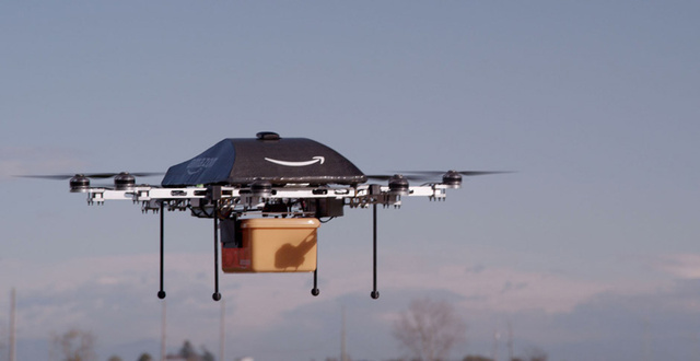 Amazon PrimeAir Could Deliver Your Stuff On Drones