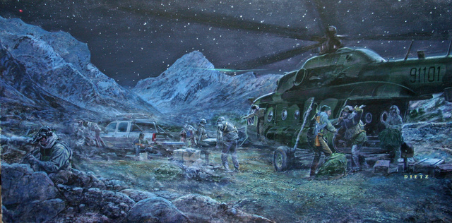 The CIA's Bizarre Art Collection Memorializes Its Greatest Hits
