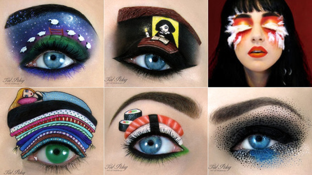 This Eye Makeup Art Is BLOWING MY MIND