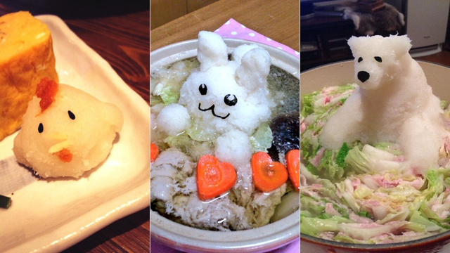Check Out Japan's Pointlessly Adorable Radish Art