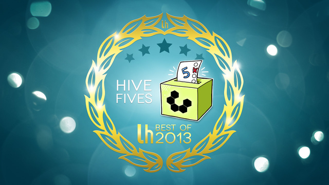 Most Popular Hive Fives of 2013