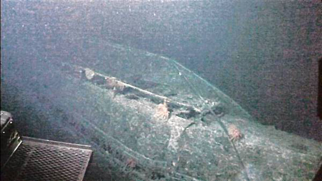 A sunken WWII-era Japanese 'mega sub' has been found near Hawaii