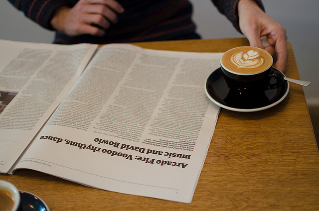 An Algorithmic Newspaper Published For Just One Coffeeshop in London