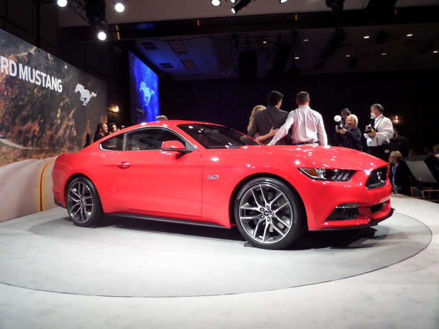 the 2015 ford mustang looks much better in person. Black Bedroom Furniture Sets. Home Design Ideas