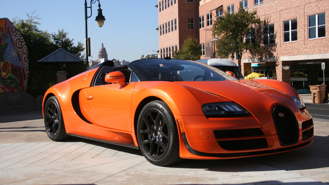 18 Things You Learn Driving The $2.35 Million Bugatti Veyron Vitesse