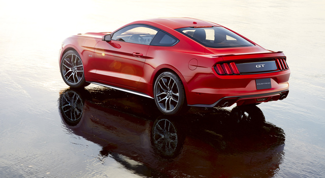 Ford Benchmarked The Porsche 911 And BMW M3 For The 2015 Mustang