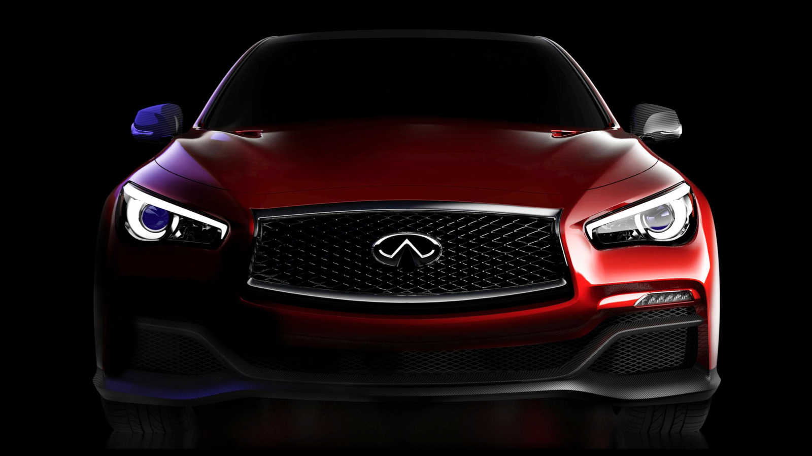 The infiniti q50 eau rouge is an f1 inspired car with an inspired name