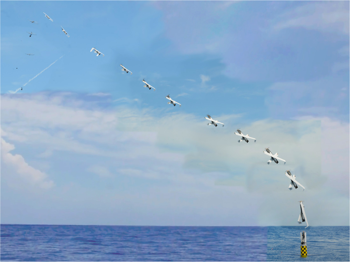The Navy Just Launched a Drone from a Submarine -- While Underwater
