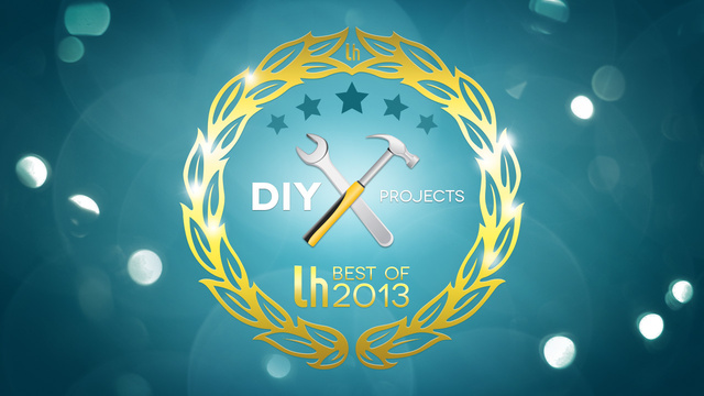 Most Popular DIY Projects of 2013