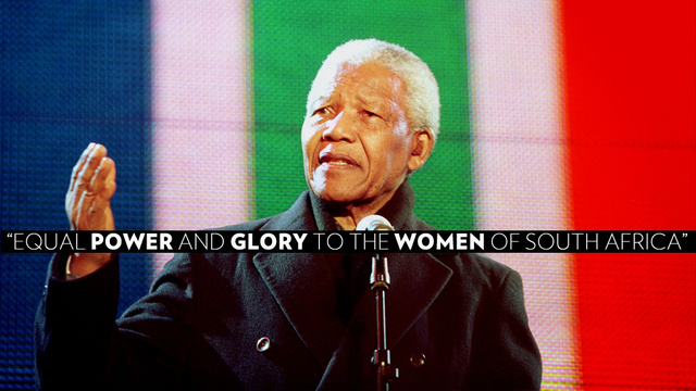 What Nelson Mandela Meant for South Africa's Women