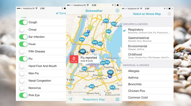 Sickweather Scans Social Networks to Track Sick Zones in the City
