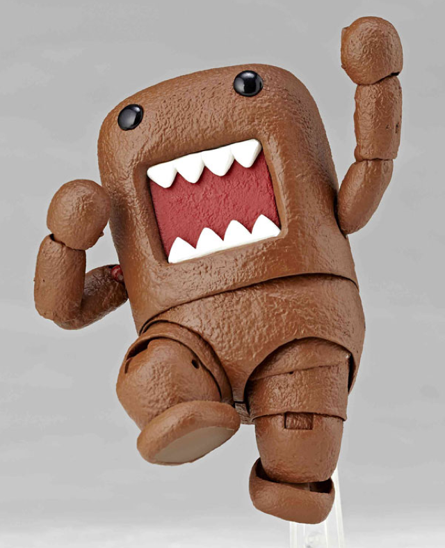 New Domo-kun Figure Looks Like a Turd