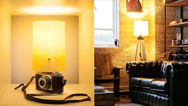 These Lamps Make Use of Your Camera Kit While It's Idle