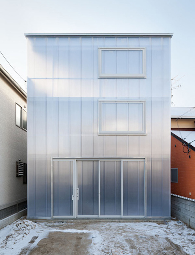Wouldn't It Be Fun to Live in a Translucent House?