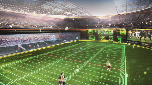 The $30 Million Backyard Stadium You've Always Wanted Has Arrived