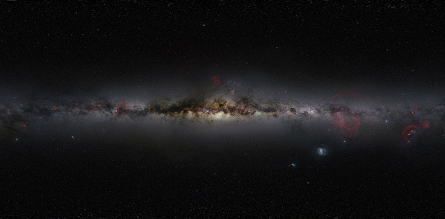 Largest true-color photo of the sky ever took 60,000 miles of travel