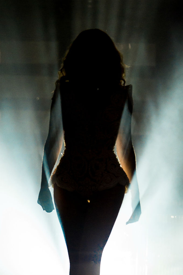 Beyonce is a Silhouetted Goddess of Light and Shadow