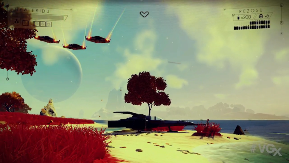 Wow. No Man's Sky Just Stole the Show at the VGX
